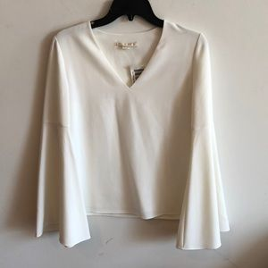 NWT Cooper & Ella double layer bell sleeve top XS